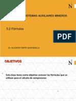 5.2 Formulas