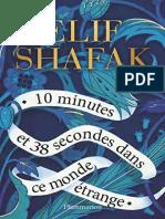 Elif Shafak - 10 minutes et 38 secondes dans ce monde etrange 2020 (1)