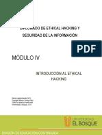 Mód IV - Introduccion al Ethical Hacking