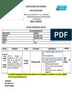 Semana 4 Química 6-10 abril del 2020 2ºBI