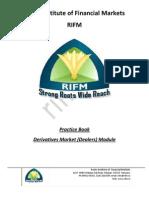 Derivative Market Dealer Module  Practice Book Sample