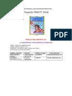 PROYECTO CULTIVOS HIDROPONICOS DE HORTALIZAS
