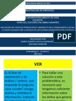 ACTIVIDAD 8 CATEDRA ENFOQUE PEDAGOGICO PRAXEOLOGICO