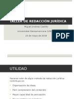 Taller de Redaccion Juridica