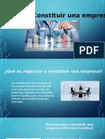 Organizacion y registro de empresas ante el estado peruano