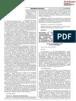 07 Aprueban la Guía N° 001-2020-MIDIS Lineamientos de Gestión para el Almacenamiento y Atención de Comedores del Programa de Complementación Alimentaria - PCA