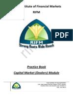 Capital Market Dealer Module Practice Book Sample
