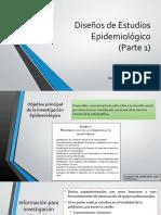 Diseños de Estudios Epidemiológico Parte 1