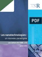 Cahier ANR 5 Nanotechnologies
