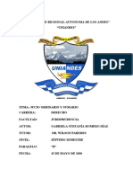 DEBER DE PROCEDIMIENTO CIVIL 1- PROCEDIMIENTO ORDINARIO Y SUMARIO- GABRIELA ROMERO