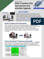 Product bulletin:Water cooled Screw_003EN 30XW-V Danfoss VFD Improvement and Controller Upgrade