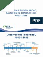 PRESENTACION  ISO 45001-20018 CCS