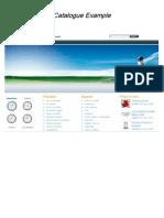 Catalogue Example