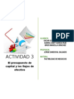 ACT 3 Flujos de Efectivo