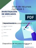 Diapositivas INVESTIGACIÓN DE MERCADOS - ENCUESTAS