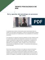 AFRONTAMIENTO PSICOLÓGICO DE LA PANDEMIA