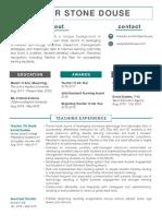tdouse resume website