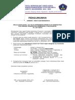 Pengumuman Uji Tulis Sipenmaru Prodi D-4 Kes- 31 Des 10