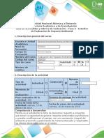 Guía de actividades y rúbrica de evaluación - Fase 2 - Estudios de Evaluación de Impacto Ambiental (1)