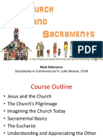 III - Issues Affecting Church's Life