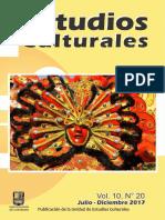 Revista Estudios Culturales 2017