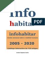 Catálogo interactivo de 725 artigos da Infohabitar