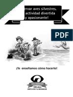 Cuadernillo aves argentina