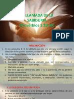 PROVERBIOS 1,20-30