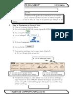 3. 5 Primaria- ORGANIGRAMAS (SIN CLASE)