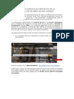 USO DE RECURSOS ELECTRÓNICOS EN EL SYLLABUS