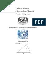 investigación sobre el triangulo