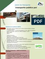 Unidad metro, monorriel, funicular, tranvia