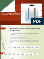 2020 - CLASE 10 - Coulombimetria y Electrolisis