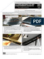 2005 Up Ford Window Louvers Installation Manual Carid