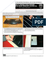 2008 Up Uodge Challenger Window Louvers Installation Manual Carid