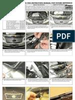2010 Up Lexus Es Grille Installation Manual Carid