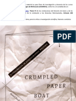 Crumpled Paper Boat Intro