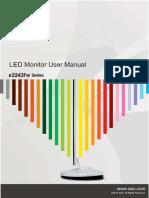 LED Monitor E2243FWK