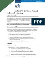 BSBITB511 - Assessment Task - 03