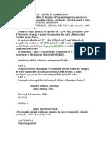 Energiei din surse regenerabile ORDIN Nr 1342 din 15 octombrie  2009