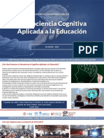Presentación Certificación Internacional en Neurociencia Cognitiva Aplicada a la Educación