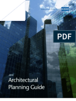 KONE 2010 Architectural Planning Guide