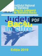 BACAU in Cifre INSSE Bacau a6_2019
