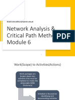 Module 6 - Network and CPM