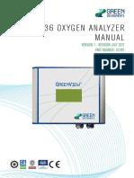 Manual G36 O2 Analyzer - V.2.04 July 2017