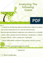 4. Analying the cases