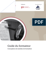 Guide formateur conception des modules