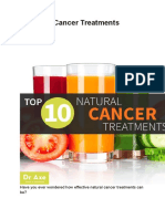 0 Natural Cancer Treatments Revealed