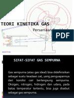 Teori Kinetika Gas