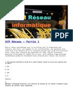 QCM Réseau – Partie 1